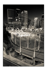 Seattle by night, the dirty underbelly, Phil Rose photography, Bellingham